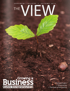 View magazine cover, Autumn 2011 issue