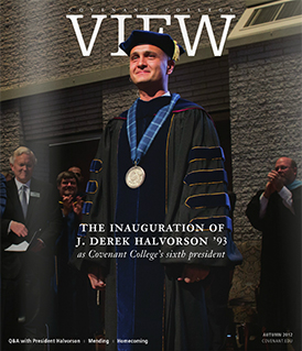 View magazine cover, Autumn 2012 issue