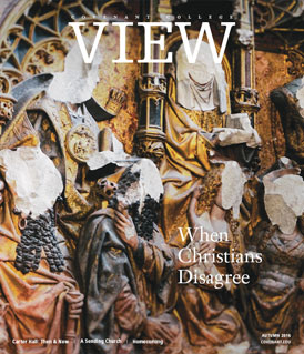 View magazine cover, Autumn 2016 issue