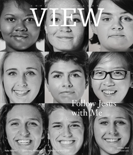 View magazine cover, Spring 2017 issue