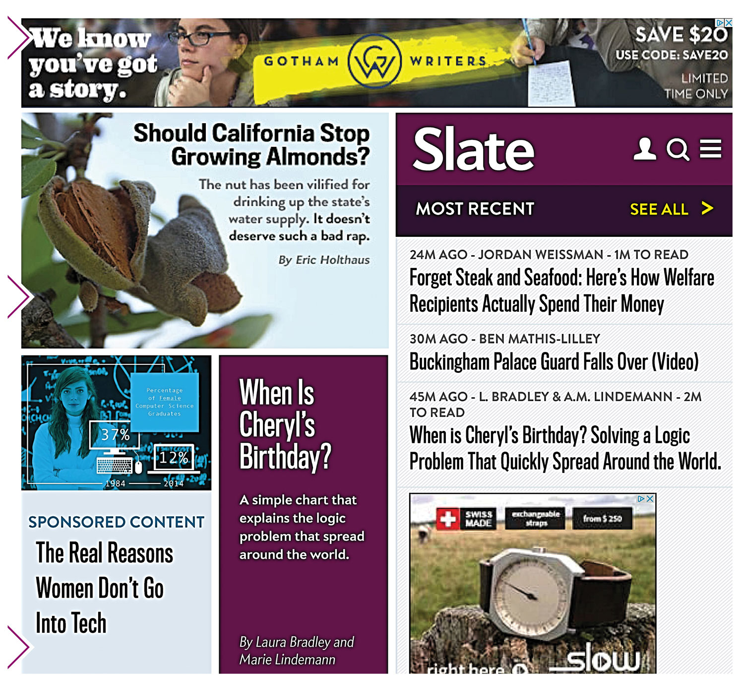 Slate.com screen capture